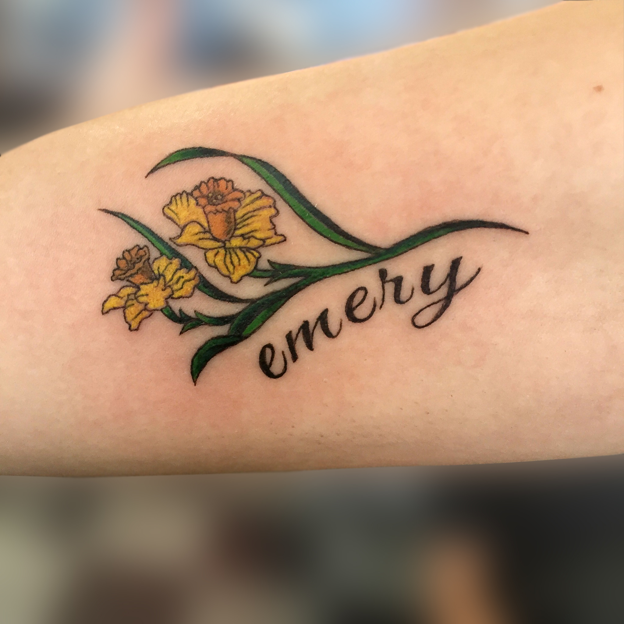Q Tattoo in Huntington Beach - Karel Beck - Emery