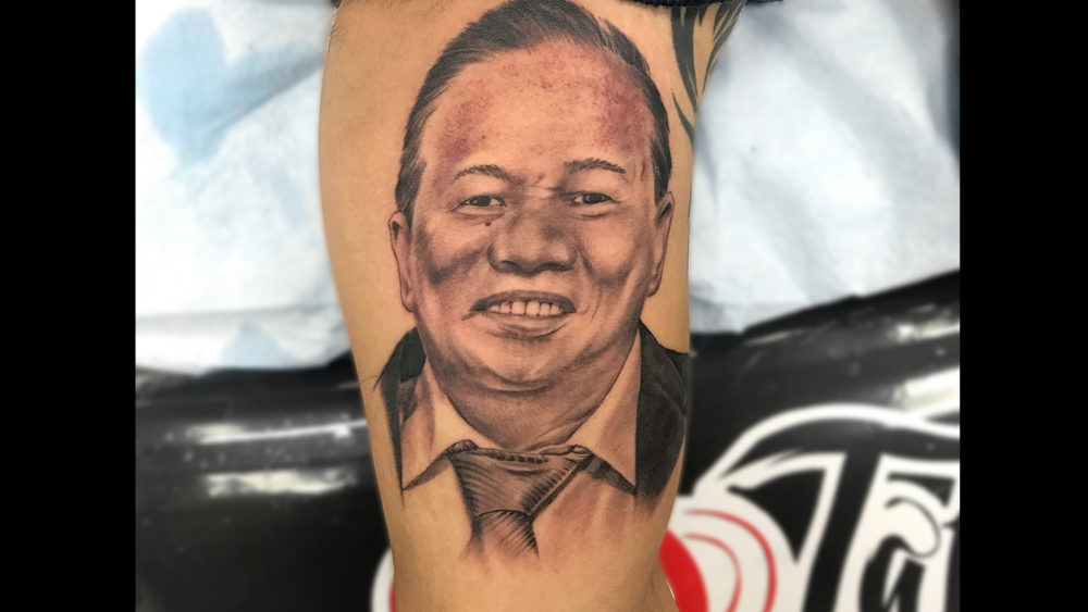 Q Tattoo in Huntington Beach - Quan - Realism portrait of a man