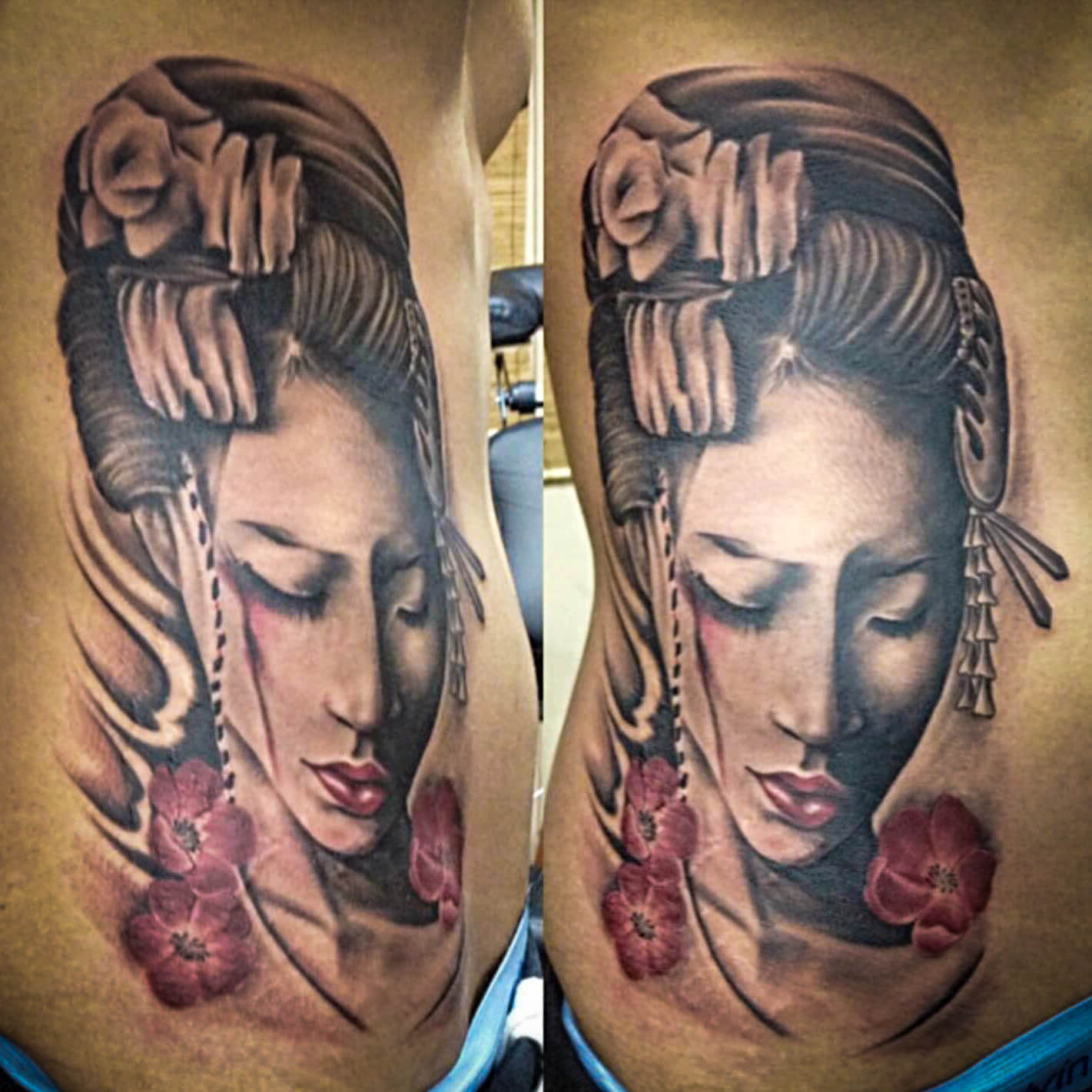 Q Tattoo in Huntington Beach - Quan - lady goddess