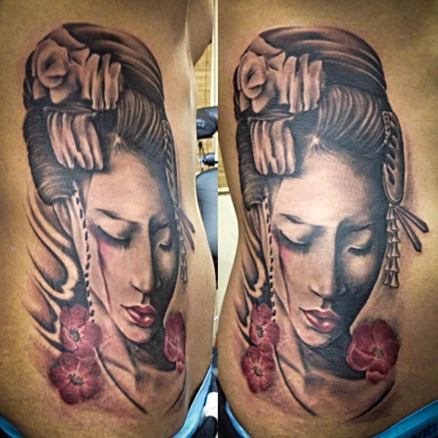 Q Tattoo in Huntington Beach - Quan - lady goddess